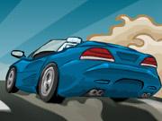 لعبة السيارة الرياضية