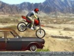 لعبة دباب القفز فوق الدراجات