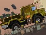 لعبة شاحنة نقل الذخيرة العسكرية
