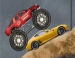 لعبة سيارة 4X4 المدمرة